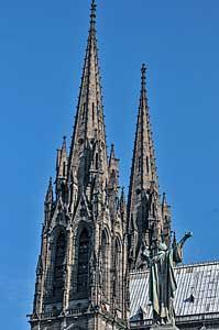 ノートルダム大聖堂の尖塔